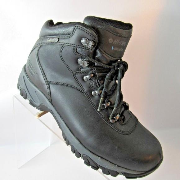 8bacd40c776 Hi-Tec Sz 7.5 M Black Altitude IV Boots Mens Shoes
